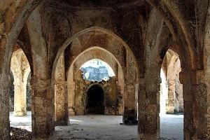 キルワのモスクの跡